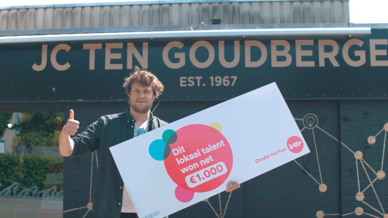 LOKALE HELDEN: JC Ten Goudberge - Held van de Wevelgemse scene